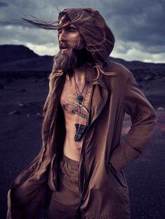 Hottest Bearded Models | Top 10 | http://www.ealuxe.com/hottest-bearded-models-top-10/