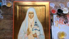 Великая Княгиня Елизавета Феодоровна. — Православные иконы