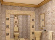 Modern Egyptian style bathroom