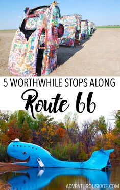 Blue whale Oklahoma - Vacationers may take flights to San Francisco to see its Golden Gate Bridge or head for Washington D.C to see the White House, but there are few things as American as Route 66.