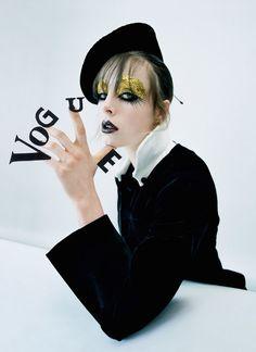 Эди Кэмпбелл — Фотосессия для «Vogue» UK 2016 – 1