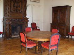 Salle MAURICE REMY - 10 personnes - Location de salles, réceptions et séminaires à Saumur - www.ackerman.fr
