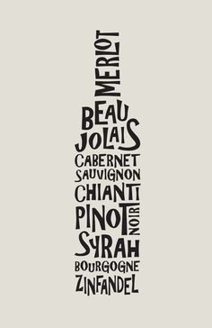 Wine Typography - How do I not own this?