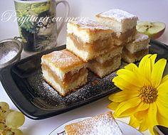 Arome si culori : Prajitura turnata cu mere