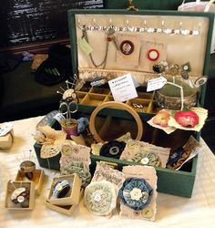 Treasure, Todmorden - Sewing Box display by Wychbury, via Flickr