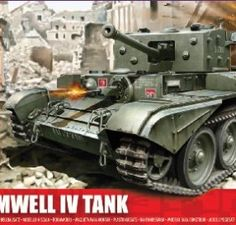 Airfix-A02338-Cromwell-Cruiser-176-Scale-Series-2-Plastic-Model-Kit-0