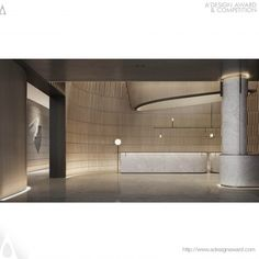 A' Design Award and Competition - Images of Light by Ying Zhang Interior Design Awards, Lobby Interior, Flat Interior, Interior Architecture, Lobby Lounge, Hotel Lobby, Sign Board Design, Lobby Design, Lighting Sale