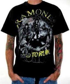 The Ramones, T-Shirt, Road To Ruin Jumbo
