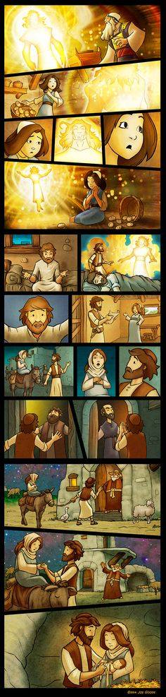 Mary and Joseph by eikonik.deviantart.com on @DeviantArt