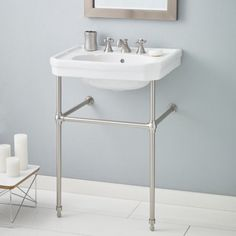 Cheviot Products Mayfair 25'' Console Bathroom Sink with Overflow