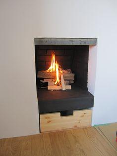 暖炉改修工事 レミングハウス