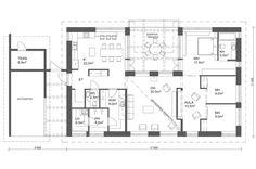 AITO KIVITALO Diagram, Floor Plans, Layout, Flooring, How To Plan, Classroom, Page Layout, Wood Flooring, Floor