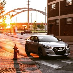 Do go chasing sunsets. We gave Tiffany Mitchell a 2016 Nissan Maxima for a week to get out and explore Nashville from dusk to dawn. #RideTheLight