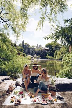 PICNIC IN CENTRAL PARK - PICNIC SET UP & STYLING - Winston & Willow
