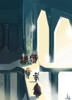 AU where Erebor never fell. Happy Thror, Thrain, Thorin, Frerin, Dis, Fili, and Kili.