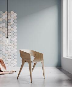 SLIM Chair by Christophe de Sousa - Design Milk