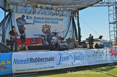Musicians performing on stage at San Felipe Blues and Arts Fiesta March 29th, 2014 #sanfelipe #sanfelipebluesandarts