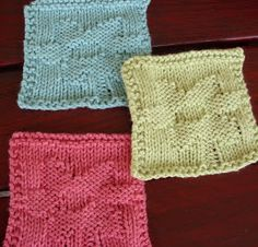 Easy cotton coasters for the last minute gift or a cheerful addition to your table. Excellent for using up small odds and ends!           W...