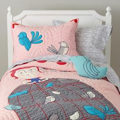 Madame Aviary Bedding
