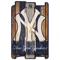 Each wood fence sign is made of hardboard and cut with dimension to give you the feel of a real fence. It has a routed hanging hole in the back. Many of the graphics use a retro white.