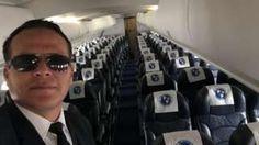 """Image copyright                  FACEBOOK                  Image caption                                      Miguel Quiroga tenía 36 años, estaba casado y tenía tres hijos.                                """"Mami: voy saliendo del aeropuerto Viru Viru, de Santa Cruz (Bolivia). Iré hasta Medellín. Llamo cuando llegue"""". Eso es lo último que sus famil"""