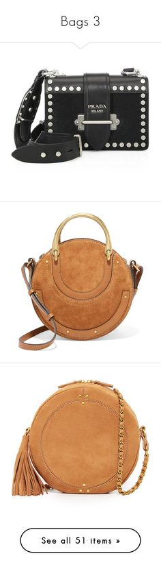 """Bags 3"" by doratemplam ❤ liked on Polyvore featuring bags, handbags, shoulder bags, purses, man leather shoulder bag, shoulder handbags, handbags shoulder bags, prada shoulder bag, leather shoulder bag and chloe"