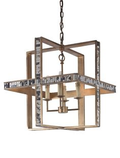 Hanover Chandelier  MidCentury  Modern, Contemporary, Transitional, Metal, Glass, Chandelier by Mr Brown London