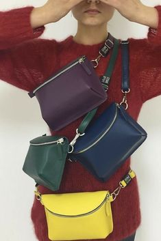 275d9e0f572 Add a pop of color to your look with AMPM bags!  beBotta houseofbotta