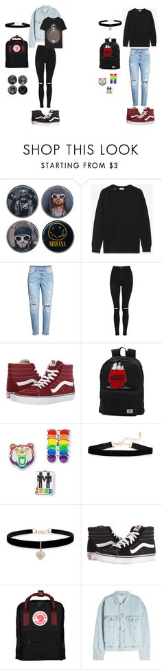 """We have broken our mirrors"" by withered-faces on Polyvore featuring moda, Yves Saint Laurent, H&M, Topshop, Vans, Betsey Johnson, Fjällräven, Yeezy by Kanye West y R13"