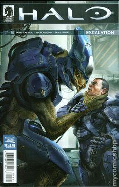 Halo Escalation (2013) 19 Comic book cover