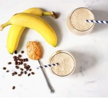 Late Morning Energy: Nutty Banana Coffee Smoothie  Searching for a healthy morning beverage that will give you a boost? Try this coffee-based smoothie, packed with ingredients that will add pep to your step.Caffeine: Coffee in this recipe serves up caffeine as well as antioxidants. Numerous studies indicate that regularly consuming coffee may have positive health benefits such as lowered risk of cancer and type 2 diabetes.Electrolytes: This smoothie is a great source of calcium, potassium…