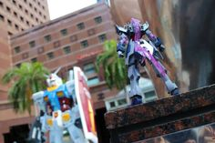 Apollo Aung Min (Singapore)  I took it during the Gundam Docks At Singapore Event, and since it's a fun kit to build, I figured I should take some photos of it in the event; it's like a Gunpla being in a battle in the real world.