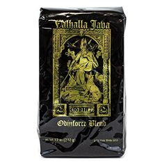 Valhalla Java Ground Coffee by Death Wish Coffee Company, Fair Trade and Organic 12 ounce bag Price:	$15.99 ($1.33 / ounce)