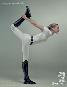 Horse & Style Magazine April/May 2015 Stretching in breeches and riding boots - Art Of Equitation Equestrian Boots, Equestrian Outfits, Equestrian Style, Equestrian Fashion, Legging, Horse Girl, Riding Helmets, Horses, Stretching
