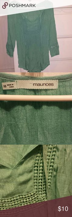 Will only sell in bundle Super cute boho top maurices  Tops Blouses