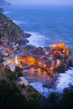Village of Vernazza ~ Cinque Terre coast, Italy by Jim Zuckerman