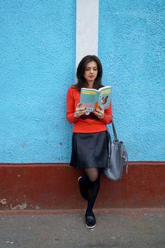 Stilul cărții The Portable Veblen | Bookish Style