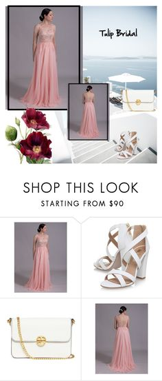 """""""Tulip Bridal"""" by fahreta1992 ❤ liked on Polyvore featuring Miss KG and Tory Burch"""