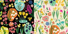 Carolyn Gavin Spring Flowers design