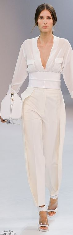 The outfit, perfect! With a few glamorous touches this would be stunning. Porsche Design Spring 2015 RTW