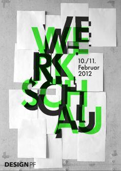 Werkschau an der Fakultät für Gestaltung Hochschule Pforzheim | Slanted - Typo Weblog und Magazin