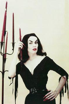 The lovely Vampira