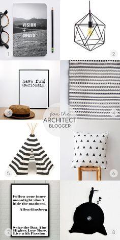 etsy-christmas-gift-guide-architect-blogger-ITALIANBARK  @etsy #giftguide #blackandwhite #architectgifts