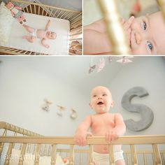 Adorable baby room photography ideas!