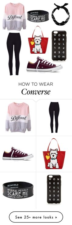 """""""Different"""" by zoetheoreo on Polyvore featuring Converse, Marc Tetro, women's clothing, women, female, woman, misses and juniors"""
