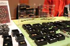 Corrine Edwards and her lovely jewellery were back at the London Honey Show again :)