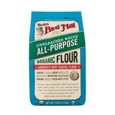Organic All Purpose Unbleached White Flour :: Bob's Red Mill Natural Foods