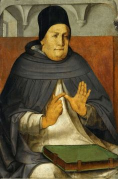 Joos Van Wassenhove And Pedro Berruguete - Saint Thomas Aquinas
