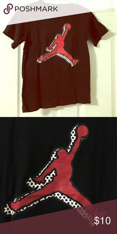 Sent as gift Boys blk Jordan tshirt Perfect condition Jordan Shirts & Tops Tees - Short Sleeve