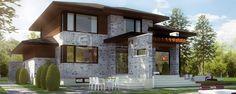 Evolution Architecture,modern house,exclusive creation E-619
